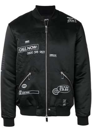 Blood Brother Loading bomber jacket - Black