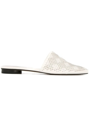 Dolce Vita pointed toe flat mules - White