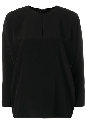 Gianluca Capannolo keyhole detail blouse - Black