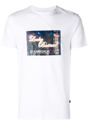 Blood Brother Lucky T-shirt - White