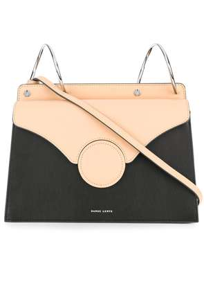 Danse Lente fold over shoulder bag - Black