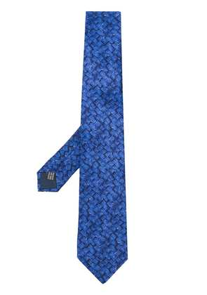Lanvin pointed tie - Blue