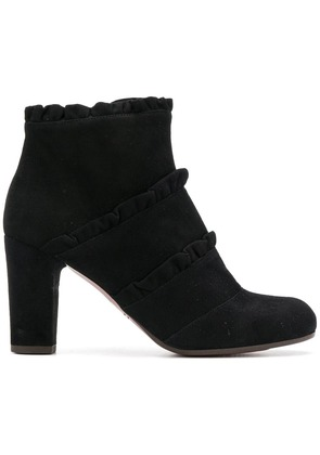 Chie Mihara ruddle detail boots - Black