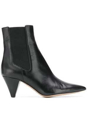 Fabio Rusconi pointed ankle boots - Black