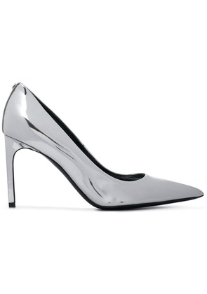 Tom Ford patent pumps - Silver