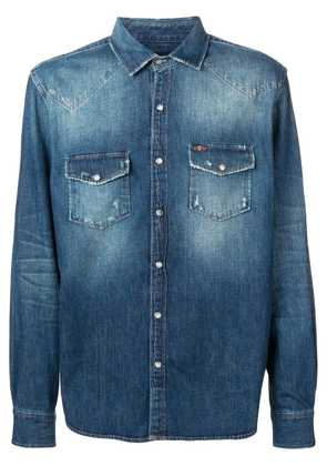 7 For All Mankind western shirt - Blue
