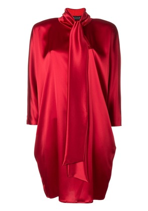 Gianluca Capannolo bow tie dress - Red