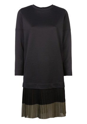 Akris Punto pleated hem dress - Black