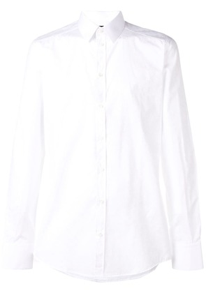 Dolce & Gabbana tone on tone logo shirt - White