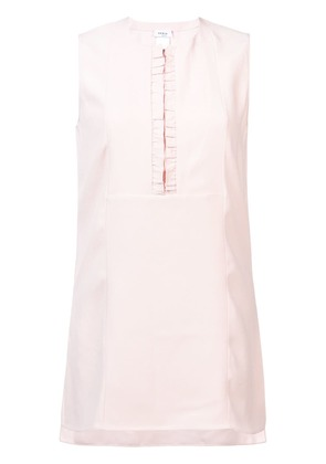 Akris Punto sleeveless pleat detail blouse - Pink