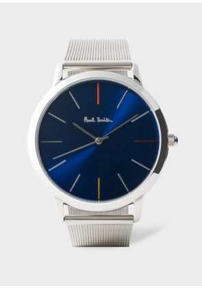 Men's Navy And Stainless Steel 'Ma' Watch