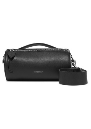 Burberry - Textured-leather Shoulder Bag - Black