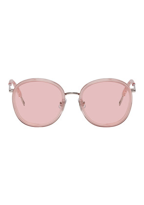 Gentle Monster Pink & Silver Ollie Sunglasses