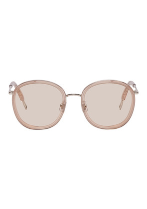 Gentle Monster Taupe & Silver Ollie Sunglasses