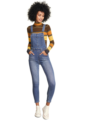 Free People Slim Ankle Overall