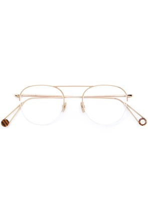 Ahlem Voltaire clip-on glasses - Gold