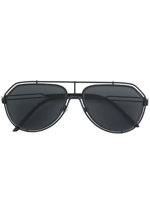 Dolce & Gabbana Eyewear aviator sunglasses - Black