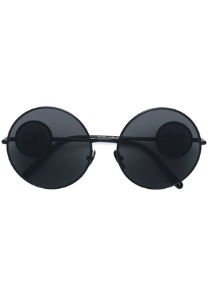 Dolce & Gabbana Eyewear round shaped sunglasses - Black