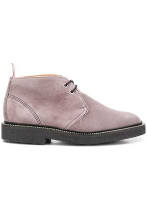 Thom Browne lace-up boots - Grey