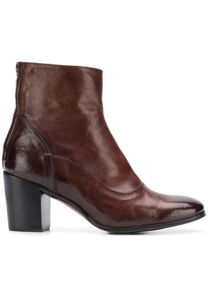 Alberto Fasciani Ursula heeled ankle boots - Brown