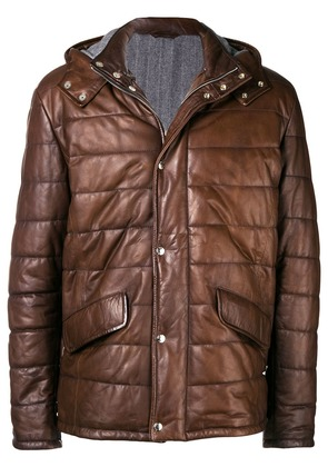 Barba Phima coat - Brown