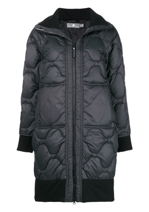 Adidas By Stella Mccartney quilted coat - Black