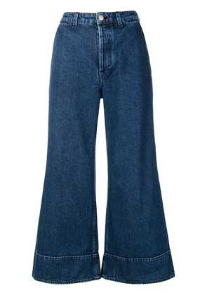 Acne Studios A-line denim trousers - Blue