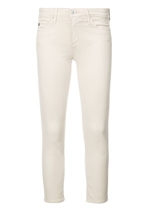 Ag Jeans cropped skinny jeans - White