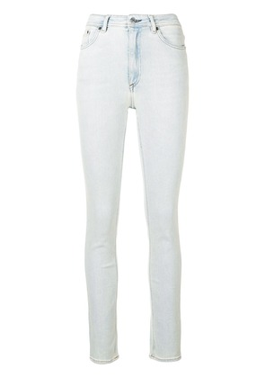 Acne Studios Peg high waist jeans - Blue