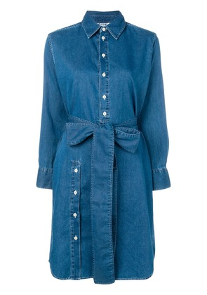 Acne Studios loose fit shirt dress - Blue