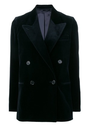 Acne Studios velvet suit jacket - Blue