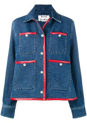 Acne Studios workwear denim jacket - Blue