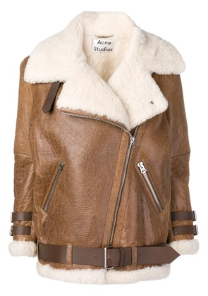 Acne Studios Velocite Vintage shearling jacket - Brown