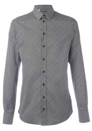 Dolce & Gabbana dot print shirt - Black