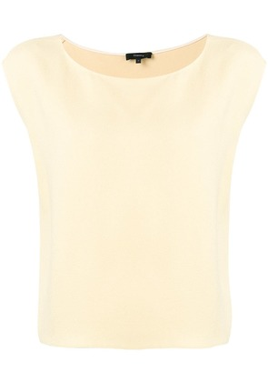 Theory straight fit blouse - Neutrals