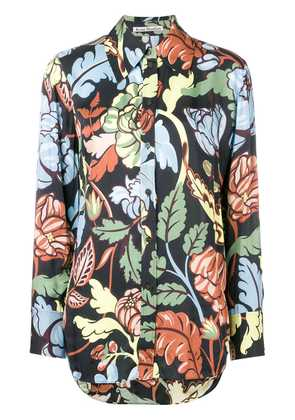 Acne Studios floral printed shirt - Black