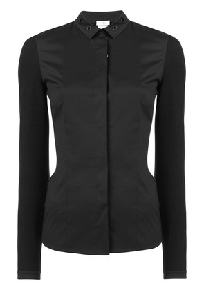 Akris Punto eyelet detail shirt - Black