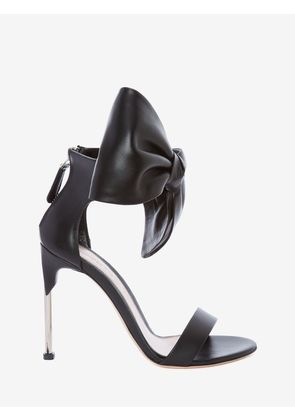 ALEXANDER MCQUEEN PIN HEEL SANDALS - Item 11580470