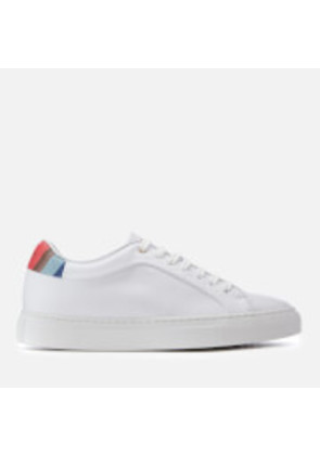 Paul Smith Women's Basso Leather Cupsole Trainers - White - UK 3 - White