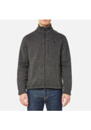 Polo Ralph Lauren Men's Fleece Jacket - Windsor Heather - XXL - Blue