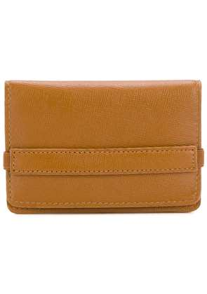 Common Projects foldover cardholder - Brown