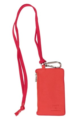 Both small wallet - Red