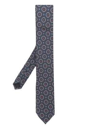Dolce & Gabbana patterned tie - Blue