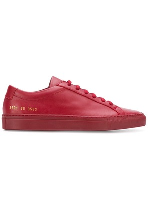 Common Projects Achilles Low sneakers - Red