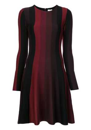Akris Punto striped knitted dress - Red