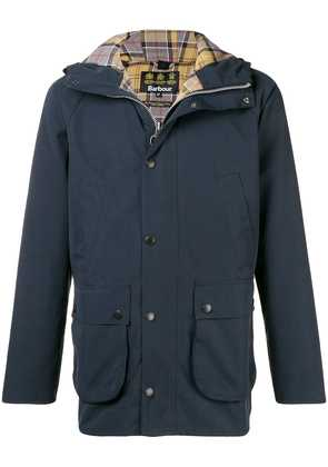 Barbour Beadle hooded casual jacket - Blue