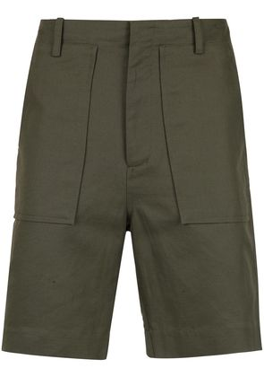 Egrey tailored straight fit shorts - Blue