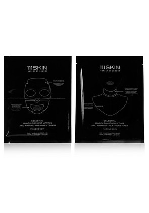 111Skin - Celestial Black Diamond Lifting And Firming Mask, 4 X 74ml - one size