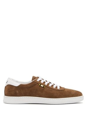 Aprix - Low Top Suede Trainers - Mens - Brown Multi