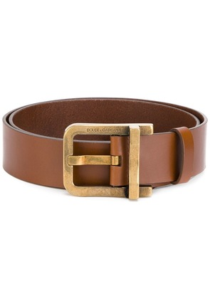 Dolce & Gabbana buckle classic belt - Brown